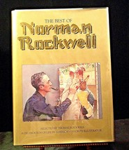 The Best of Norman Rockwell Hard cover Book AA20- CP2172 Vintage image 1
