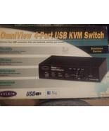 Belkin OmniView SE (F1D104) 4-Port - $29.70