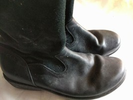 Womens Shoes Clarks Size 3 UK Synthetic Black Shoes - $39.34