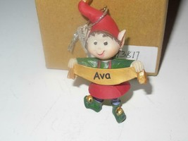 Christmas Ornaments WHOLESALE- Russ BERRIE- #13817 'AVA'- (6) - New -W8 - $5.83