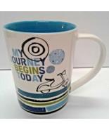 Starbucks 14 oz. Coffee Mug MY JOURNEY BEGINS TODAY - $12.00