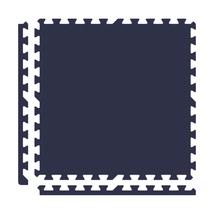 Alessco Premium SoftFloors Anti-Fatigue Floor Mat 8' x 8' Set - Navy Blue - $144.13