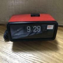 SEIKO QUARTZ Flip alarm clock Vintage Retro Good Working Used - $89.44