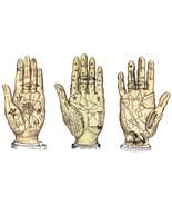 fortune teller palm reading hands printable art jpg download digital vin... - $3.99