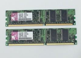 KTJ0198-MOA5 Kingston 256MB (2X128) PC2100 DDR-266MHz non-ECC Unbuff 184Pin Dimm - $12.95