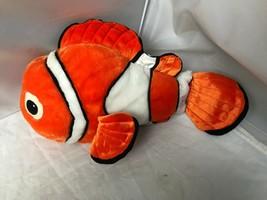 "Original Finding Nemo Disney Store 18"" Plush Clown Fish So Cl EAN And Soft Euc - $14.60"