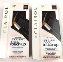 2 Clairol Root Touch-Up Powder Instantly Covers Roots & Defines Brows in Black - $17.41