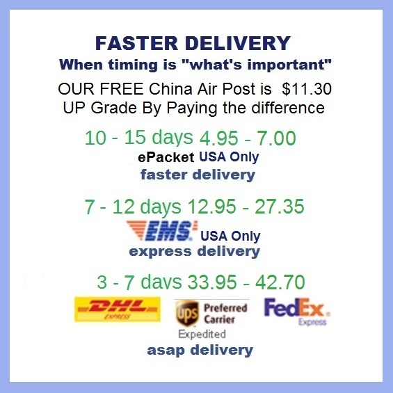 Primary image for Shipping Pay Link for Faster Delivery - Options for Fast, Express, or ASAP