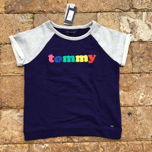 Tommy Hilfiger Girl's Ame Logo Crew Neck  Heavy  Knit S/S T-Shirt  Med  ... - $19.79