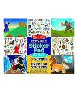 Reusable Sticker Pad - Bible Stories by Melissa & Doug Fast Free Shipping - $11.15