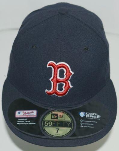 New Era CA40289 Authentic Collection Boston Red Sox Baseball Cap Black Size 7