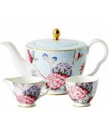 Wedgwood Cuckoo Teapot Sugar Bowl & Creamer 3 PC. Tea Set New Gift Boxed - $298.90