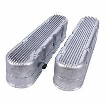 A-Team Performance GM LS Finned Cast Aluminum Valve Covers with Coil Mounts and