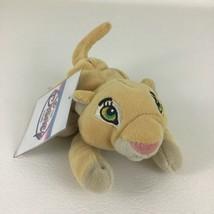 "Disney Store Lion King Nala Mini Bean Bag 8"" Plush Stuffed Toy Vintage w... - $12.82"