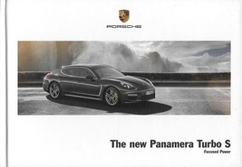 2014 Porsche PANAMERA TURBO S hardcover book sales brochure catalog US 14 - $20.00