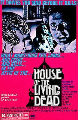 Primary image for House of the Living Dead - 1974 - Movie Poster