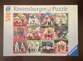 Ravensburger Jigsaw Puzzle Puppy Pals 146598 500 Piece - $18.32