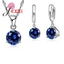 JEXXI 925 Sterling Silver Classic Necklace & Earrings Set - Ladies / Wom... - $5.50