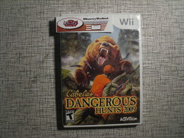 Cabela's Dangerous Hunts 2009 Nintendo Wii Hunting Sim Game - $14.25