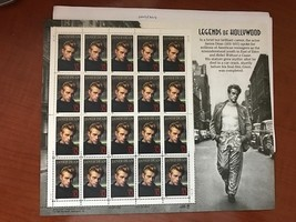 USA United States James Dean sheet mnh 1997       stamps - $12.95