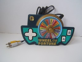 Wheel of Fortune Plug and Play Electronic Handheld TV Game Tested Works Jakks 05 - $19.21