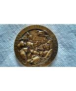 1990 Bronze Calendar Medal John Muir Unknown Maker - $467.50