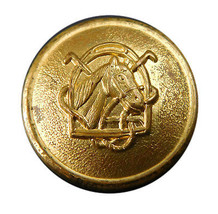 """Org Ralph Lauren Chaps Domed """"Horse"""" metal Replacement Main Front button .90"""" - $6.88"""