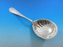 Nightingale by Gorham Sterling Silver Berry Serving Spoon Brite-Cut 8 1/... - $209.00