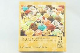 "Jack Pine ""Ice Cream"" COMPLETE 1000 Piece Puzzle Colorful Cobble - $14.03"