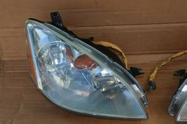 03-04 Nissan Altima Xenon HID Headlight Head Light Lamps Set L&R - POLISHED image 3