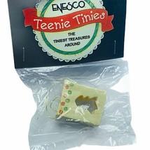 Enesco Teenie Tinies Treasure SEALED miniature figurine ornament Christmas Tree - $16.35