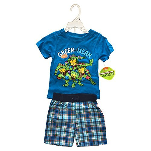 Primary image for Disney Winnie The Pooh or Ninja Turtles Baby Boys 2 Pieces Set 100% Cotton(12 Mo