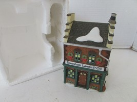 DEPT 56 58327 FAVERSHAM LAMPS & OILS BUILDING HERITAGE VILLAGE NO CORD/N... - $16.95
