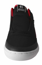 Etnies Kids Boys Black/Red Rap CM Mid Lace-Up Skate Shoes Sneakers 2US 34 NIB image 2