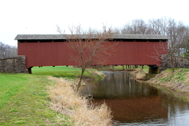 Weaver's Mill Covered Bridge 13 x 19 Unmatted Photograph - $35.00