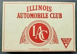 Vintage Advertising Box for Illinois Automobile Club Cigars - Unused - $22.99