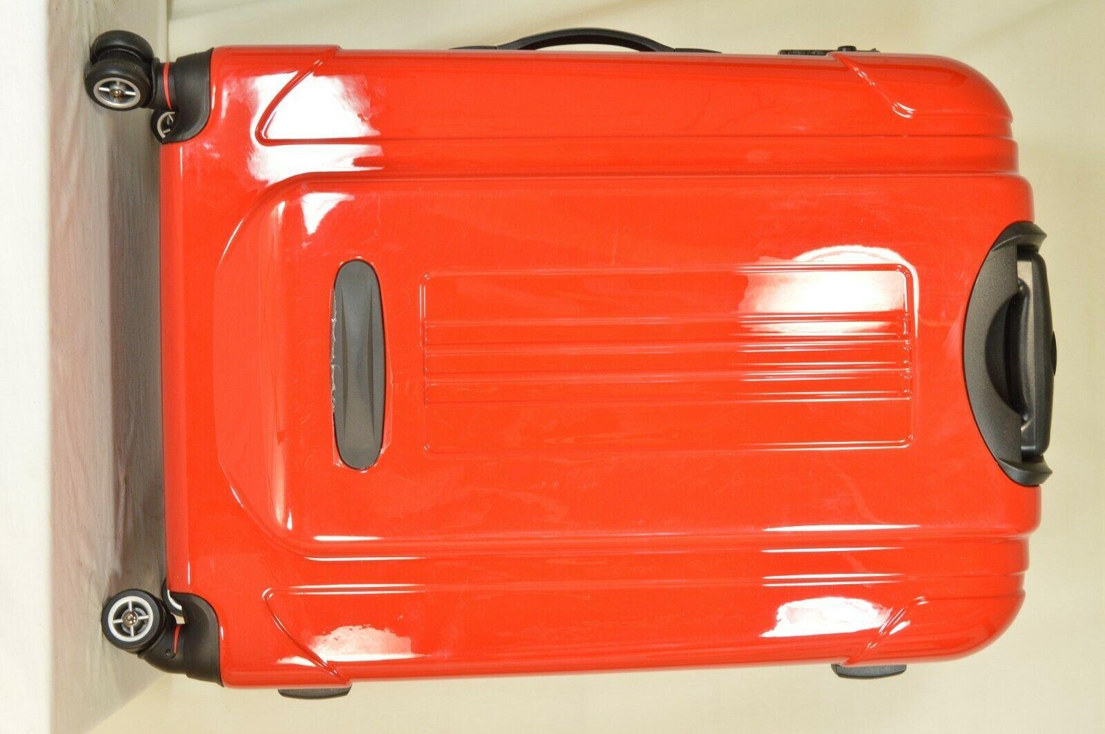 "Traveler's Choice 29"" Sedona new spinner red polycarbonate shell combo lock image 7"