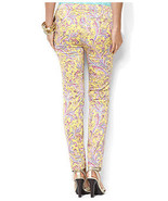 NEW Womens Plus Size $109 Ralph Lauren Skinny Stretch Paisley Ankle Pant 16W - $26.57