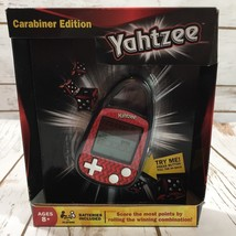 YAHTZEE Carabiner Edition Electronic Hand-Held Game HASBRO New FS B7 - $12.17