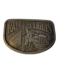 Raleigh Lights Cigarettes Belt Buckle  - $5.93