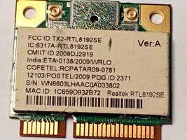 Realtek RTL8192SE 802.11b/g/n PCI-E WLAN Half miniCard - $7.52