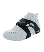 Nike Air Veer 599442 103 Basketball Sneakers Mens Shoes Leather White /Grey - $89.99