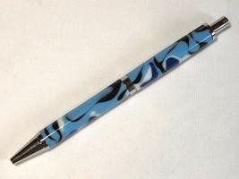 Slimline Pro click pen, navy camo acrylic, chrome hardware, Parker refill - $26.73