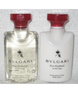 Bvlgari au the rouge (red tea) Lotion and Shower 40ml 6 each - $32.99