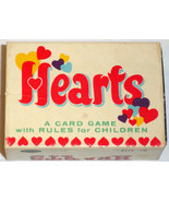 Vintage 1951 Miniature Card Game HEARTS Boxed - $9.00