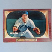 Bob Rush Baseball Card - 1955 Bowman #182, Chicago Cubs Baseball Card, E... - $14.00