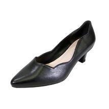 PEERAGE Makenzie Women Wide Width Trendy Comfort Low Heel Leather Shoes  - $58.45