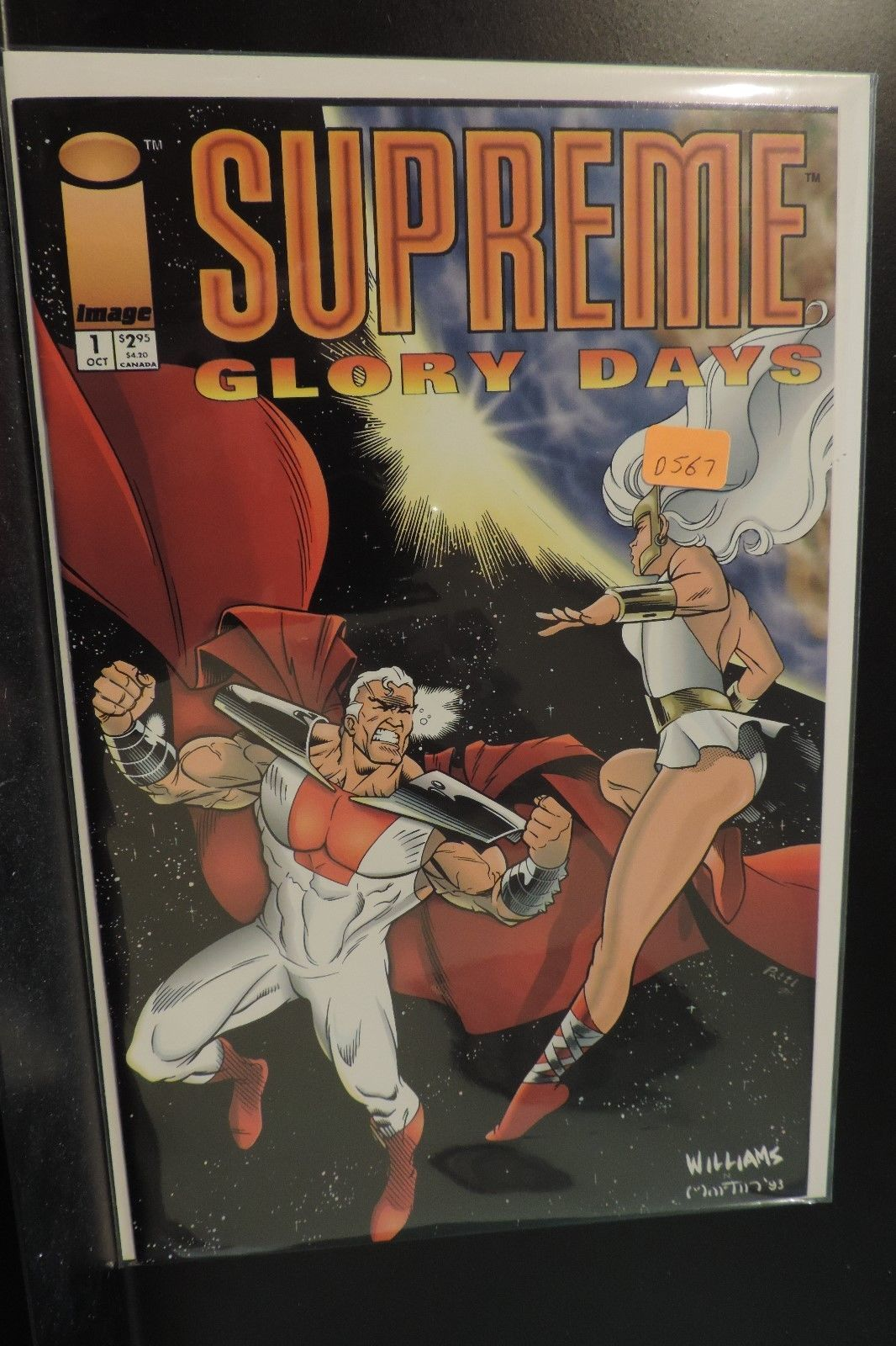 #1 Suprme Glory Days 1993 Image Comic Book D567