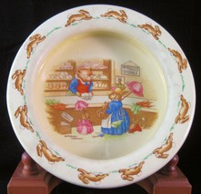 """R.D. Bunnykins Round Baby Bowl """"Mr. Piggly's Stores""""  - 6"""" - $12.34"""