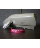 Dymo M-6 Label Maker - Plastic Embossed Tags - Interchangeable Font Disk - $8.55